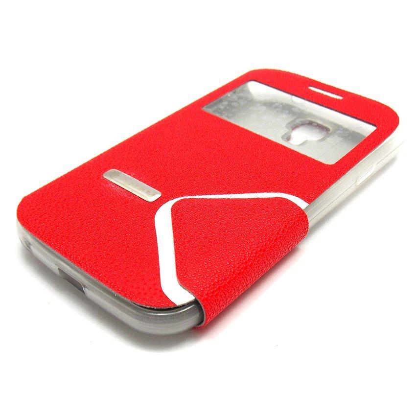 I-Gear Flip Cover Treeangel Advan S5E - Merah