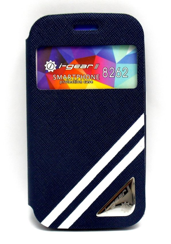 I-Gear Original Wallet Strip For Samsung Galaxy Core i8262 - Biru tua