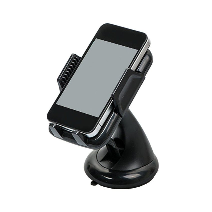 IBERL Car Windscreen Windshield Holder Stand for Smart Phone GPS MP4 360 Rotating Black (Intl)