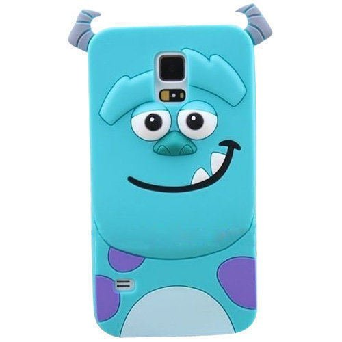 ilife for Samsung Galaxy s5 case Tiger Monsters Inc. Sulley Marie/Alice Cat Dog rubber phone cases cover for samsung galaxy sv i9600