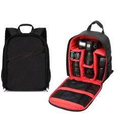 INSEESI Camera Bag Environment Friendly Outdoor Photography Waterproof SLR DSLR Camera Backpack Camera And Lens Bag For YONGNUO 50mm Lens, 35mm Lens, Nikon D5200 D5300 D7200, Canon 5d Mark Ii, Etc. (Red) (Intl) - Intl