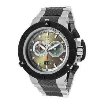 INVICTA Subaqua IN-11584 Men's Stainless Steel Olive Green Dial Watch
