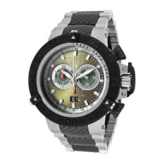 INVICTA Subaqua Men's Black / Silver Stainless Steel Strap Watch 11584