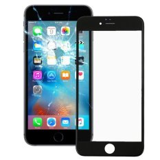 IPartsBuy Front Screen Outer Glass Lens With Front LCD Screen Bezel Frame For IPhone 6s (Black) - Intl