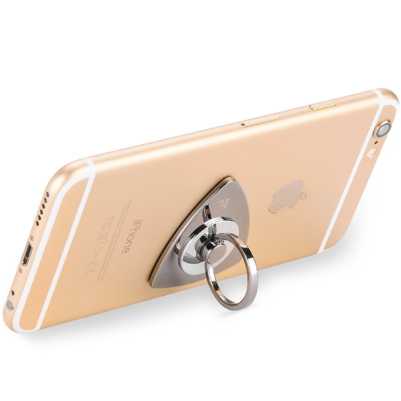 IPhone Stand Metallic Material Structure of the Delicate O-Ring Series.Universal Cell Phone Metal Holder Mount Stand Dock Cradle for All Mobile Phone. (Intl)