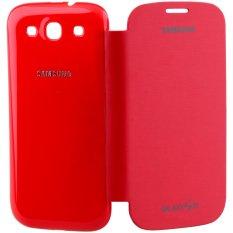 iStuff Flip Cover Fit Back - Samsung Galaxy SIII - Merah