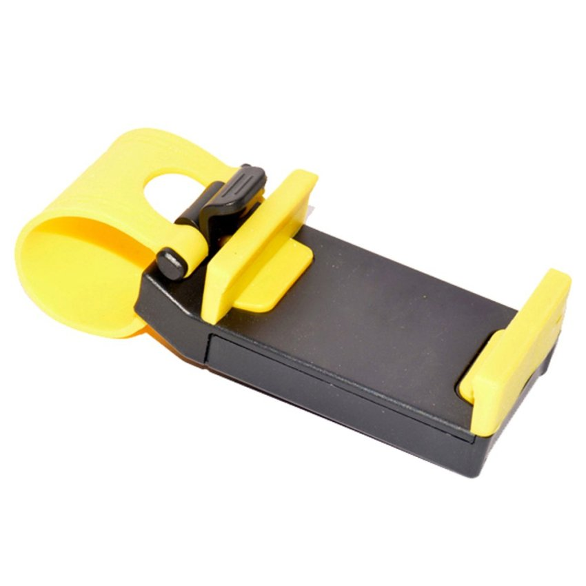 Jack Steer Phone Holder - Kuning
