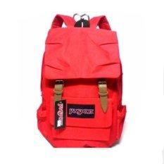 JanSport Laptop Backpack + Hiking Camping Backpack - Merah