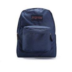 JanSport T501 SuperBreak Backpack Navy (Intl)