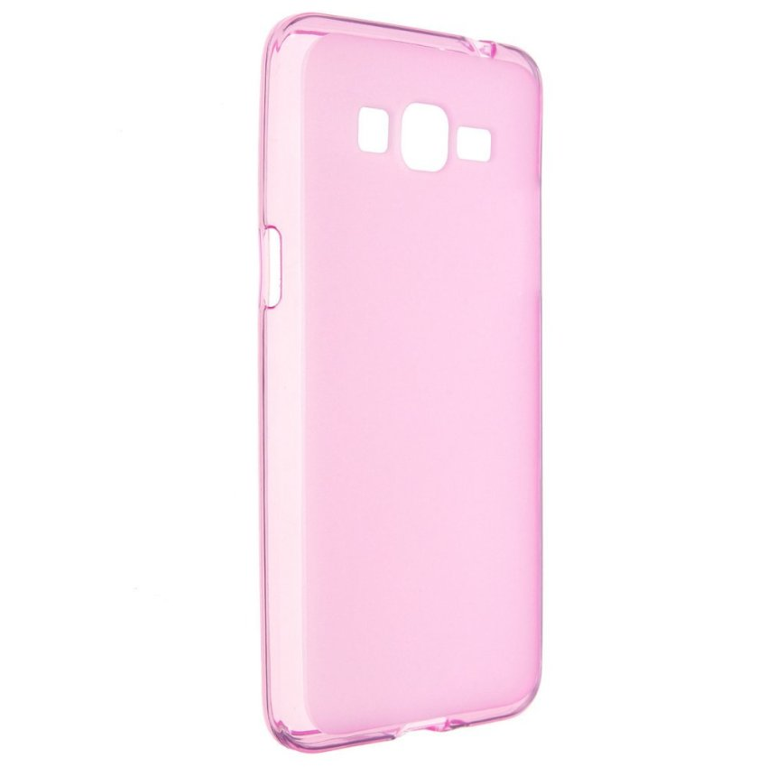 Jelly Silicone TPU Gel Soft Back Case Cover for Samsung Galaxy Grand Prime G530 (Pink) (Intl)