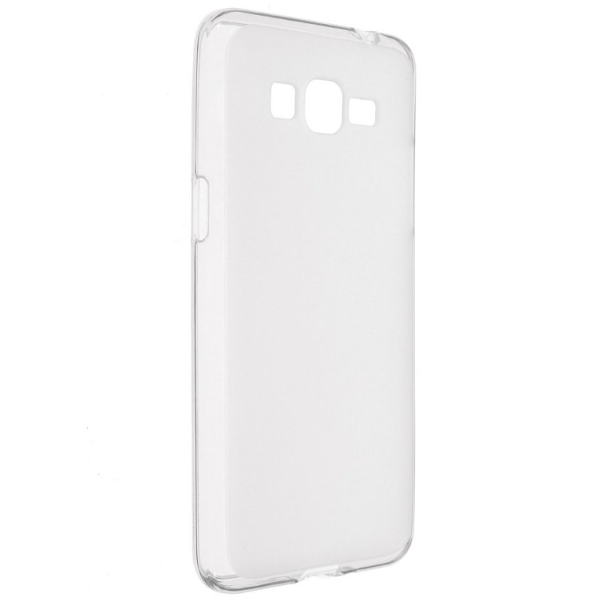 Jelly Silicone TPU Gel Soft Back Case Cover for Samsung Galaxy Grand Prime G530 (White) (Intl)