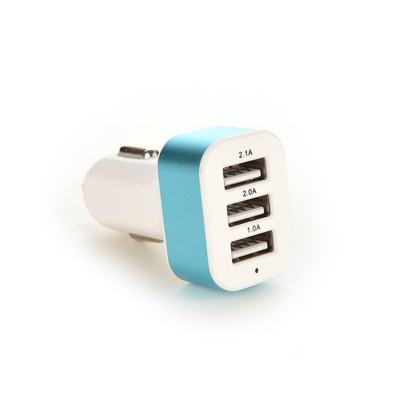Jetting Buy Car Charger 12V Power Adapter For Samsung S5 iPhone Blue