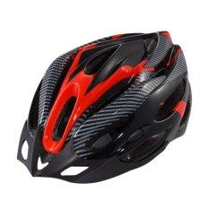 Jetting Buy Helm Sepeda Bike Bicycle Cycling Helmet - Merah - Intl