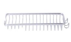 JIANGYUYAN Wall Mounted Aluminum Shower Basket Bathroom Rack Holder With Towel Bar (Intl)