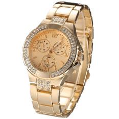Jo.In New Fashion Women Wristwatch Alloy Casual Watch Elegant Quartz Watch (Gold)