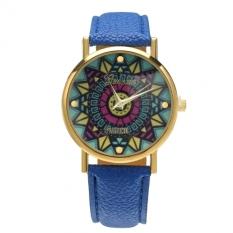 Jo.In Women Casual Retro Wristwatch Alloy Elegant Quartz Watch (Blue)