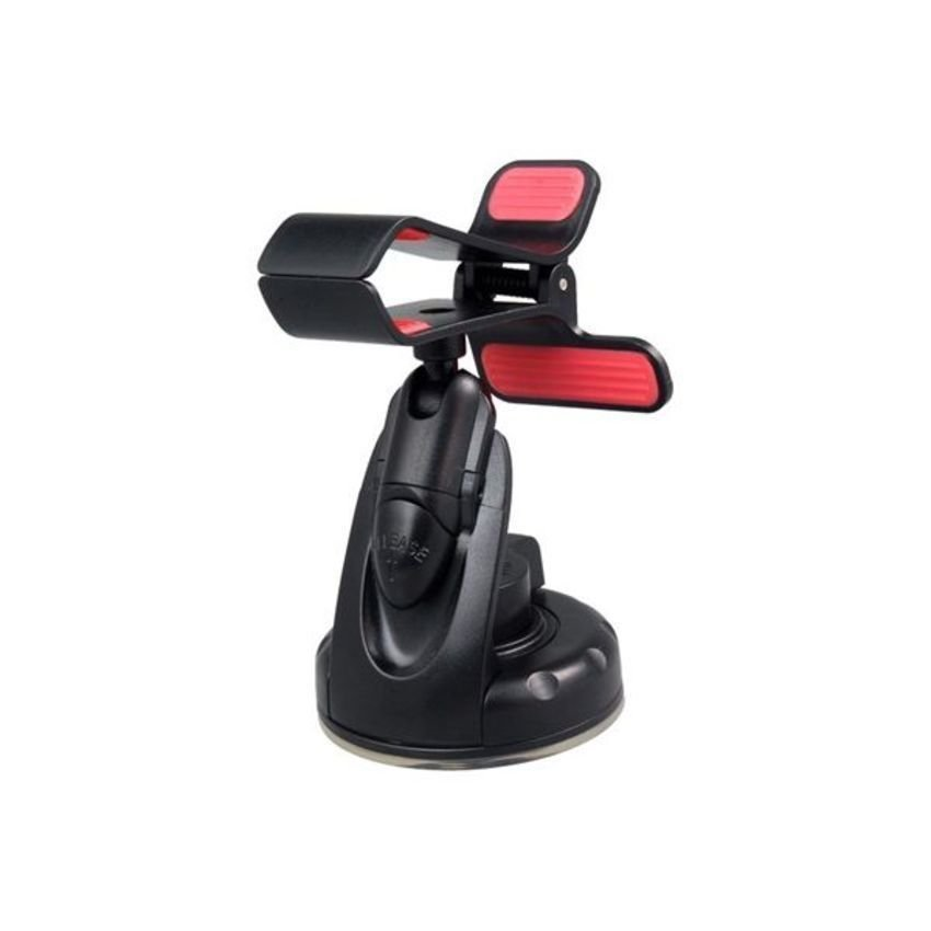 JOR Car Universal Clip Holder with Suction Cup for iPhone 5 (Black) (Intl)