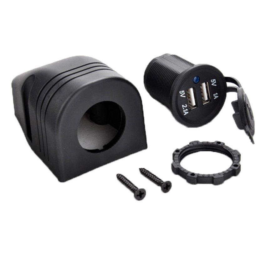 JOR Sunwonder Socket 5V DC Adapter Car USB Charger (Black) (Intl)