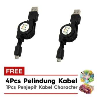 ... Led Watch Pedometer Run Walking 2 Buah Hitam Gratis 4 Pelindung Source Kabel Data Tarik