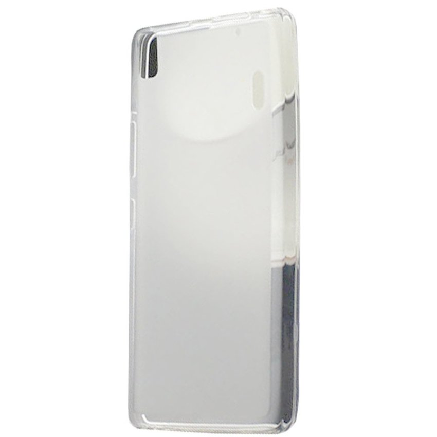 Kimi - Lenovo A7000 K3 Note Ultra Thin Crystal TPU Pudding Case Original - Clear White