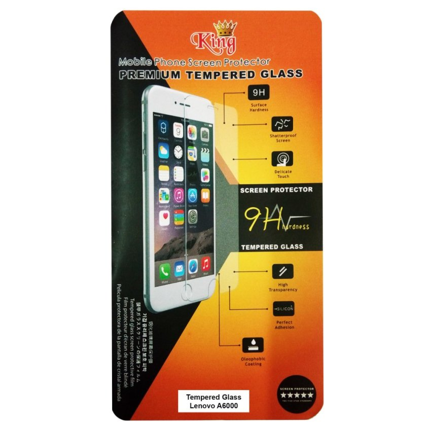 King Premium Tempered Glass for Lenovo A6000 - Anti Gores - Screen Protector