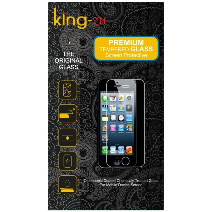 King-Zu Tempered Glass Untuk Meizu M2 Note - Anti Gores kaca - Screen Protector