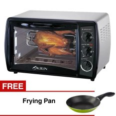 Kirin KBO-190RA Oven Elektrik + Gratis Frying Pan - 18cm