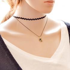 Korean Version Of The New Moon Pendant Necklace Fashion Ladies Creative Boutique Fashion Necklace