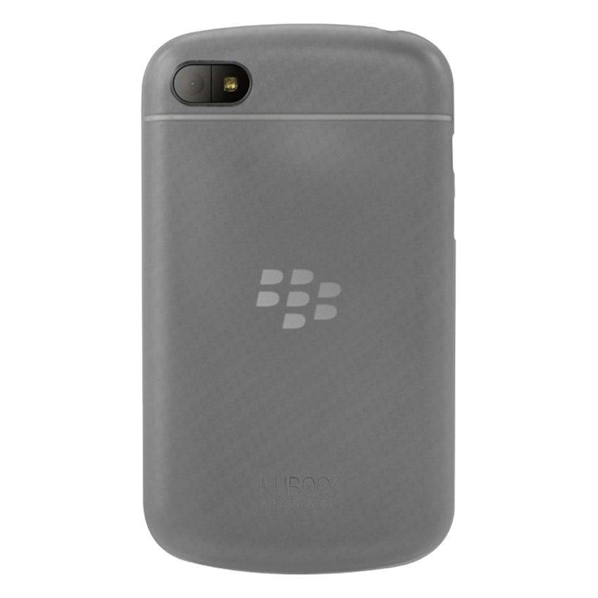 Kuboq Soft Jacket Hitamberry Q10 - Transparant Abu- abu