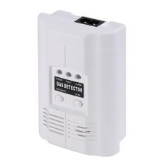 KUNPENG High Sensitivity LPG LNG Coal Natural Gas White Leak Detector AlarmSensor - Intl