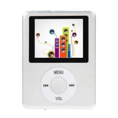 "KUNPENG Slim 8GB 1.8"" LCD MP4 Media MP3 Player Radio (Silver)"