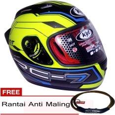 Helm Kyt Rc7 Merah Putih