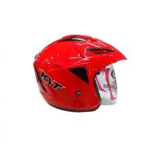 KYT - Scorpion King Half Face - Merah