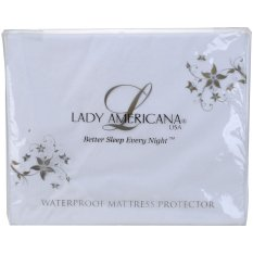 Lady Americana Pelindung Kasur Tahan Air - Putih