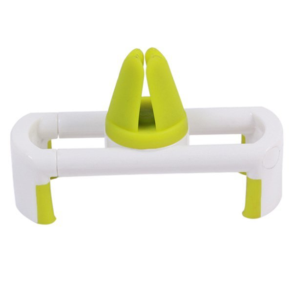 LALANG Car Holder Air Outlet Stents Vent Mount Holder for Phone White/Green