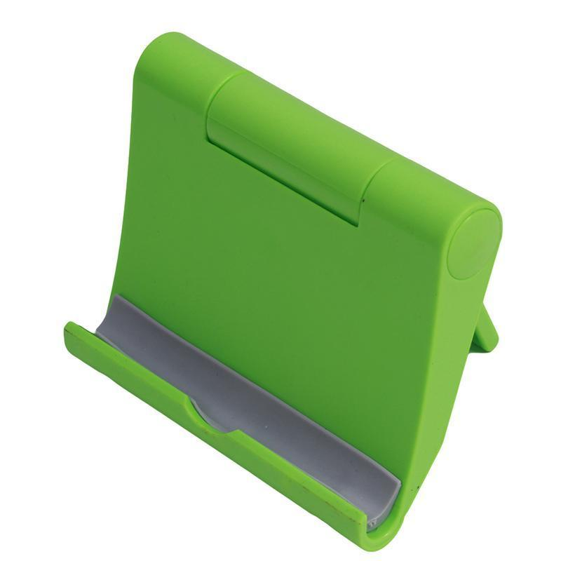 LALANG Universal Adjustable Foldable Desk Tablet Mobile Phone Stand Holder (Green) (Intl)