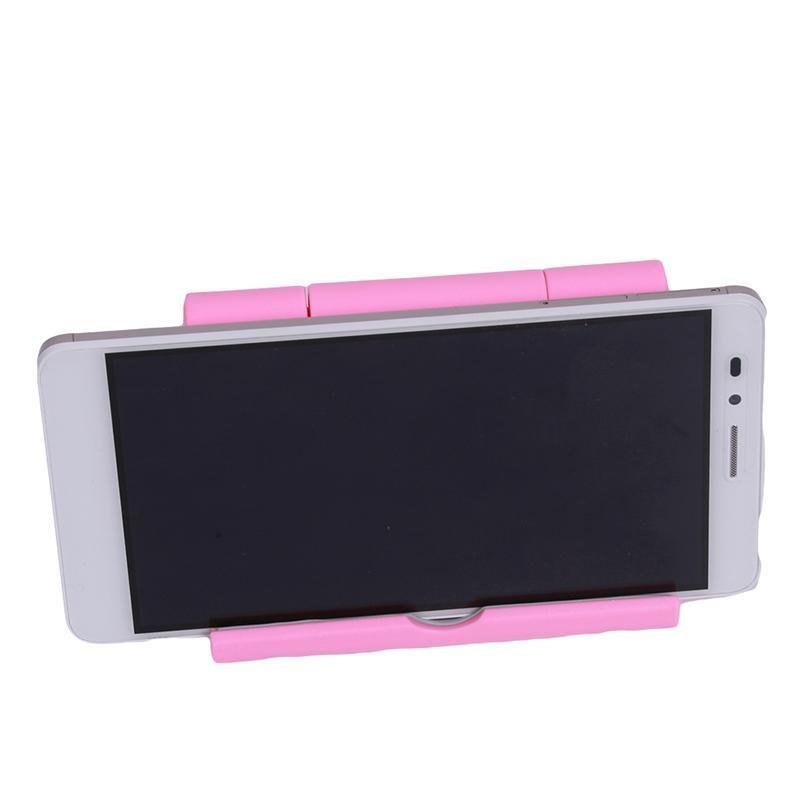 LALANG Universal Adjustable Foldable Desk Tablet Mobile Phone Stand Holder (Pink) (Intl)