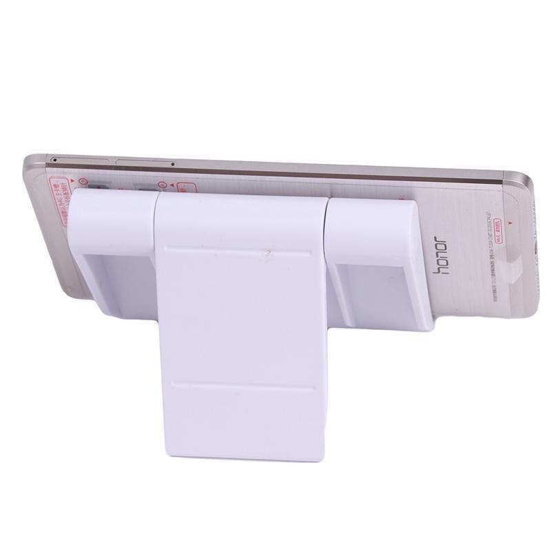 LALANG Universal Adjustable Foldable Desk Tablet Mobile Phone Stand Holder (White) (Intl)