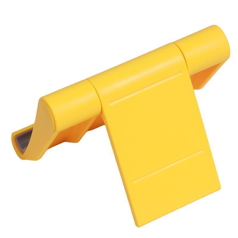 LALANG Universal Adjustable Foldable Desk Tablet Mobile Phone Stand Holder (Yellow) (Intl)