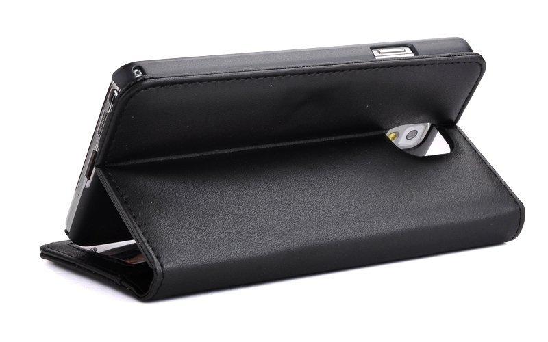 Lancase Photo Frame Wallet Case for Samsung Galaxy Note 3 N9000 (Black)