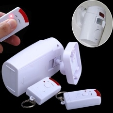 Latest Styles 105db Home Security Wireless Motion Sensor Alarm And Siren With 2 Remote Control