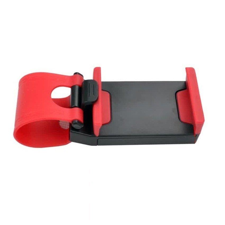 Lazypod Car Steering Holder / Penahan Handphone di Setir Mobil