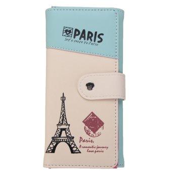 long card holder case purse handbag light blue lazada indonesia