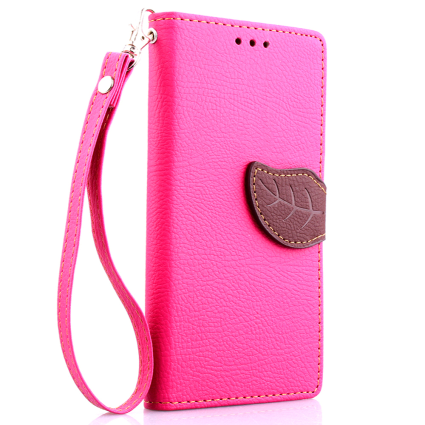Leather Cover for Sony Xperia M2 (Pink) (Intl)