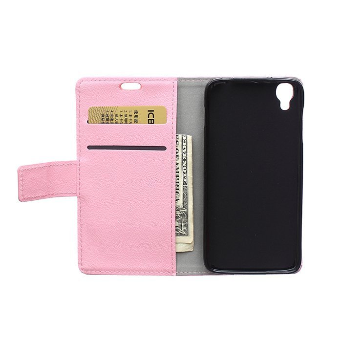 Leather Flip Case With Card Slot for Alcatel I Dol 3 5.5