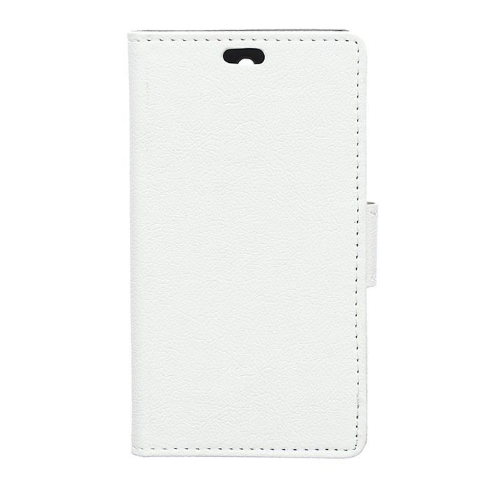 Leather Flip Case With Card Slot for Sony Xperia Z4V (White) (Intl)