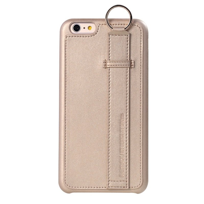 Leather Mobile Phone Case for iPhone 6/6S Beige (Intl)