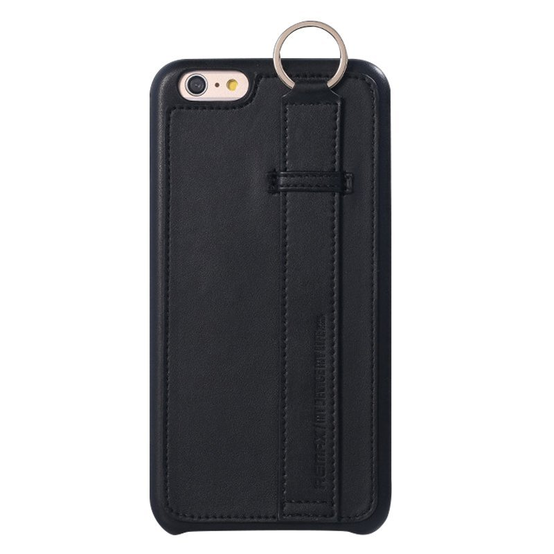 Leather Mobile Phone Case for iPhone 6 plus/6S plus Black (Intl)