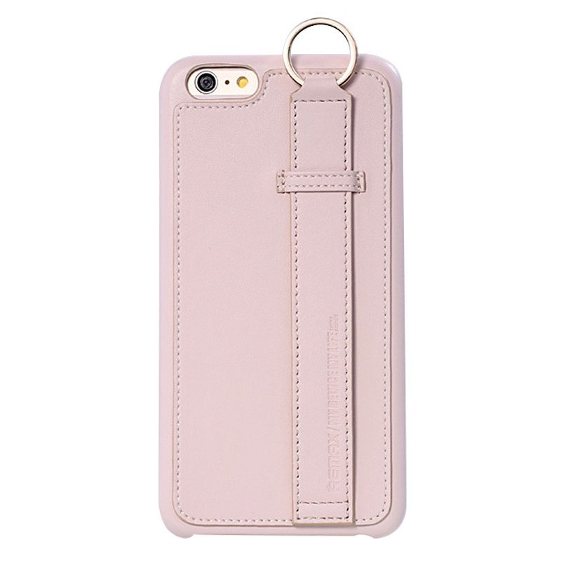 Leather Mobile Phone Case for iPhone 6 plus/6S plus White (Intl)