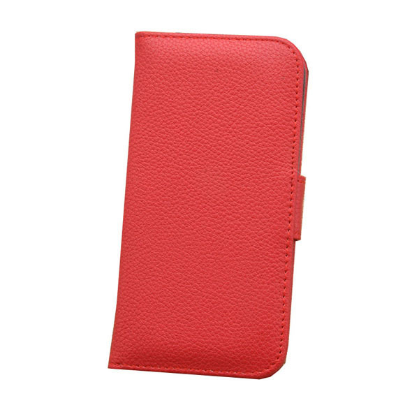 Leather Shell Flip Protection Cover for iPhone 6 (Red) (Intl)